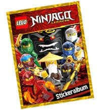 Lego Ninjago Legacy sticker número nº 107 de 289 pegatinas