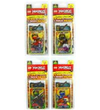 Lego Ninjago Serie 3 Trading Cards - All 4 Blisters