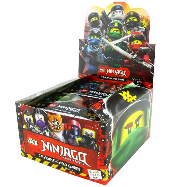 Lego Ninjago Serie 3 Trading Cards - Display