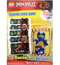 Trading Card Game NEW Lego Ninjago Series 3 XXL Card Ultra Power Ninja Go