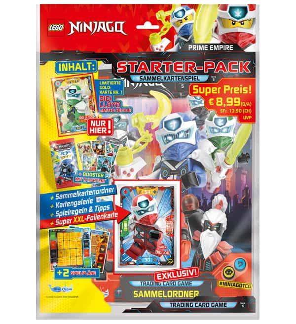 Lego Ninjago ™ série 5 trading card Conditionnement Classeur Starter Set NEUF