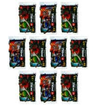 Lego Ninjago Serie 3 Trading Cards - 10 Packets