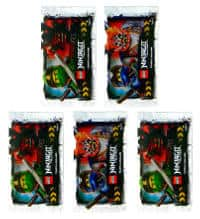 Lego Ninjago Serie 3 Trading Cards - 5 Packets