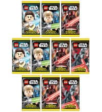 Lego Star Wars Serie 1 Trading Cards - 10 Packets