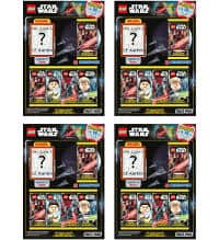 Lego Star Wars Serie 1 Trading Cards - All 4 Multi-Packs