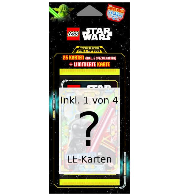 Lego Star Wars Serie 1 Trading Cards - Blister