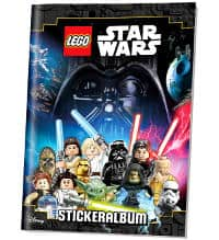 Lego Star Wars sticker 50 bolsas//250 sticker-nuevo /& OVP