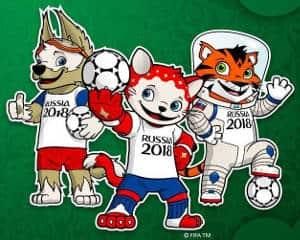 Mascot World Cup 2018 - Wolf Tiger Cat