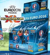 Panini Adrenalyn XL EURO 2016 Display with 50 Boosters