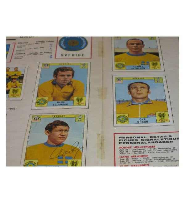 Panini Album Mexico 70 - middle page