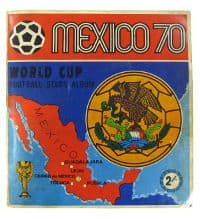 Panini Mexico 70 Complete Album - All Cards