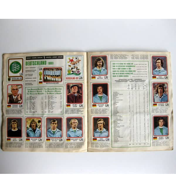 Panini Album Munich 74 Complete - Germany