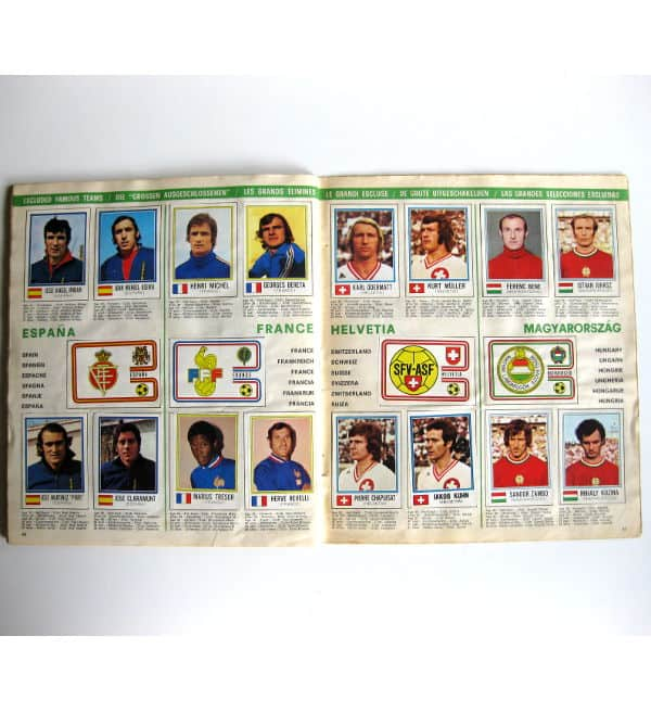Panini Album Munich 74 Complete - Spain