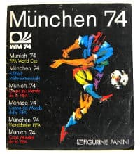 Panini Album Munich 74 - Complete With All Stickers