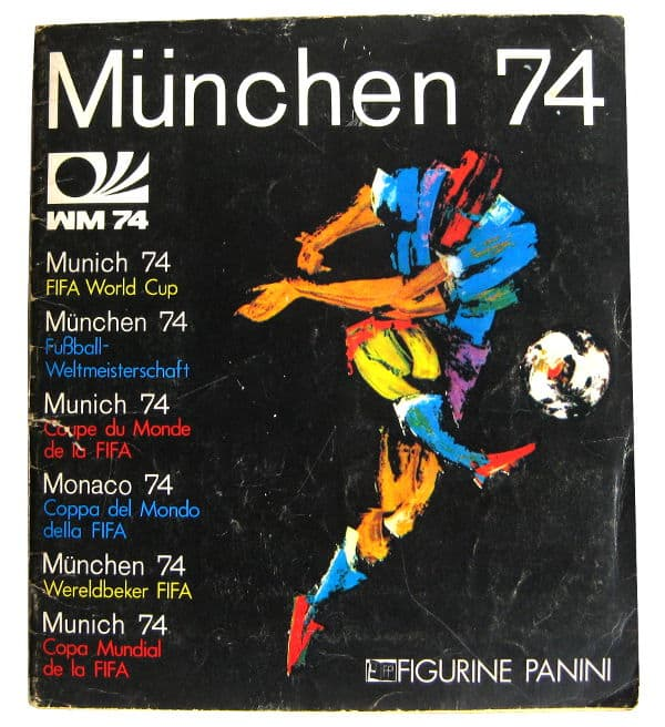 Panini Album Munich 74 Complete - Cover