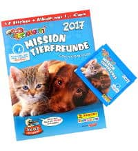 Amici Cucciolotti  Mission Tierfreunde Sticker Nr 218 Panini