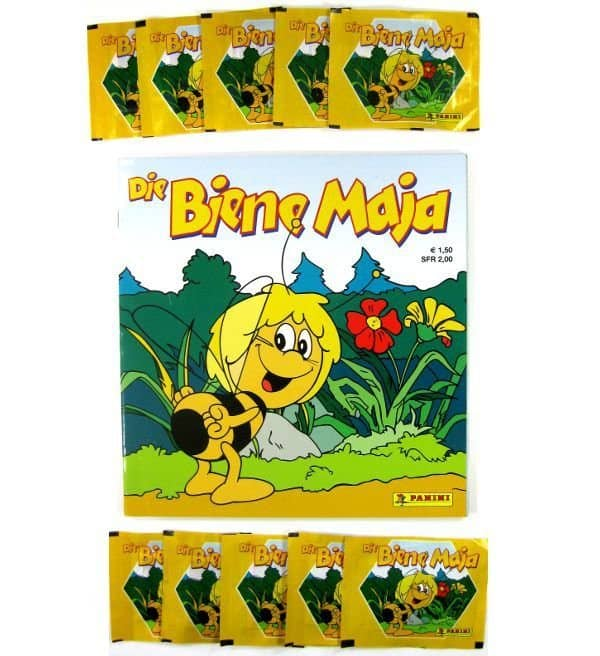Panini Maya The Bee Album with 10 Packets