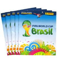 Panini Brasil 2014 - 5 Sticker Albums Second Choice