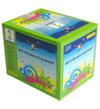 Panini Brasil 2014 Green Box With 50 Packets