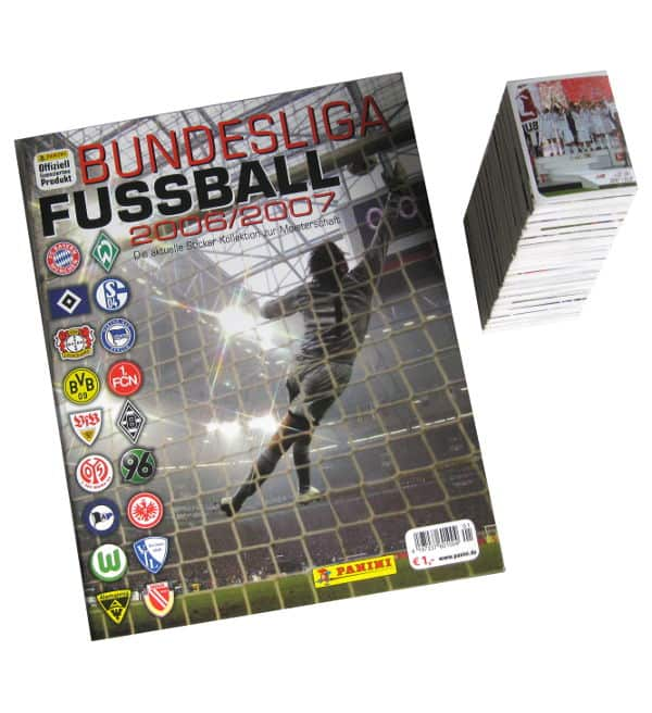 Panini Fussball 2006-2007 All Stickers + Album