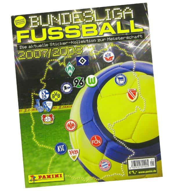 panini fussball bundesliga 2007 2008 album stickerpoint