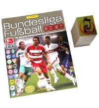 Panini Fussball 2008-2009 Set - All Stickers + Album