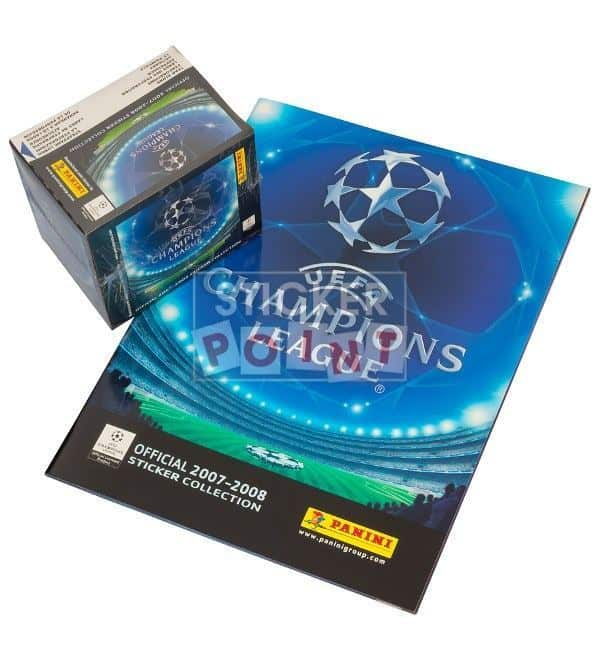 Panini Champions League 2007-2008 Display + Album Front