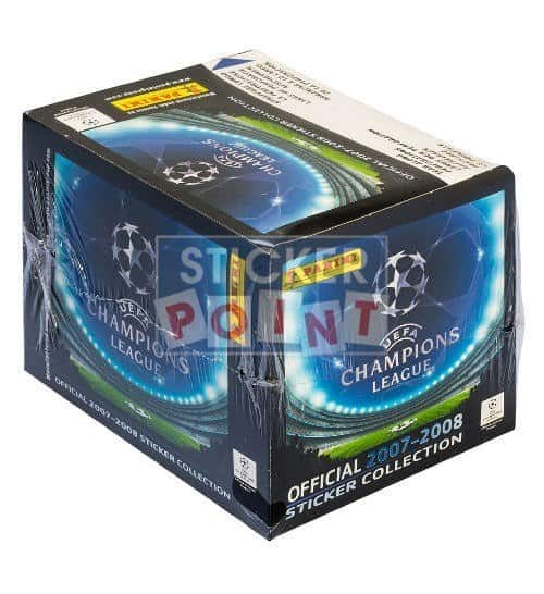 Panini Champions League 2007-2008 Display Front