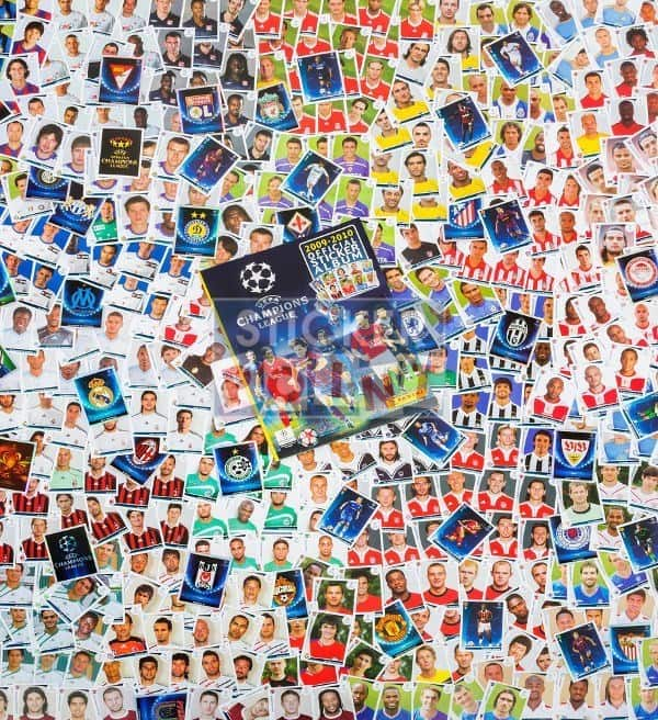 Panini Champions League 2009-2010 All Stickers + Album Front