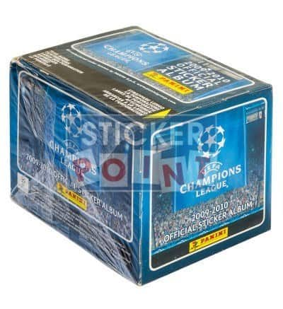Panini Champions League 2009-2010 Display - Box Front