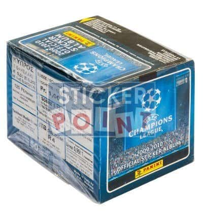Panini Champions League 2009-2010 Display - Box Sideview