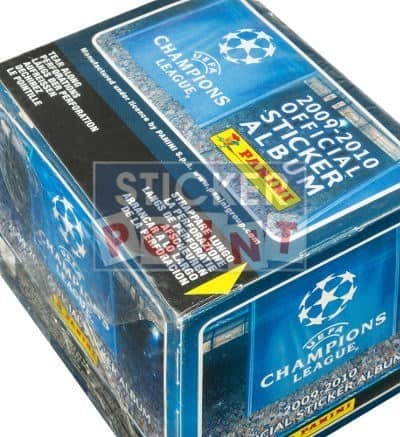 Panini Champions League 2009-2010 Display - Box Top