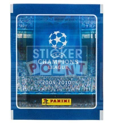 Panini Champions League 2009-2010 Packet Front