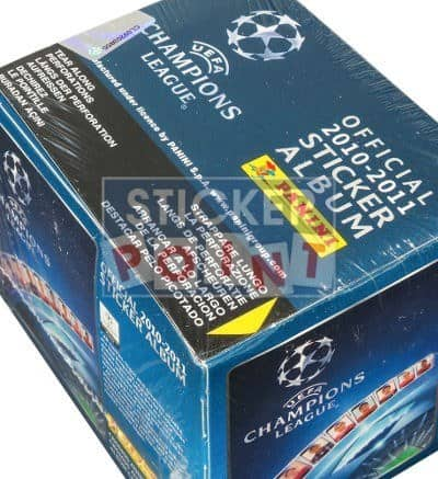 Panini Champions League 2010-2011 Display Blue - Box Top