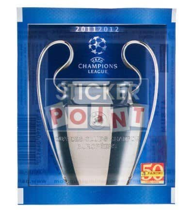 Panini Champions League 2011-2012 Packet Front