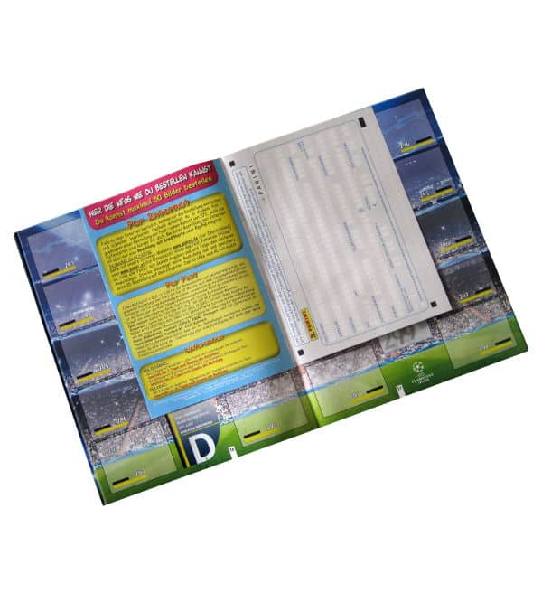 Panini Champions League 2012-2013 Album Order Form