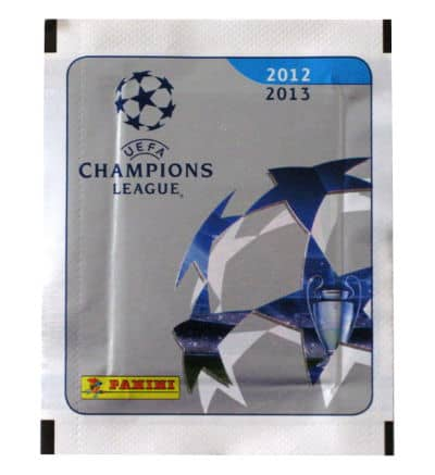 Panini Champions League 2012-2013 Packet Front