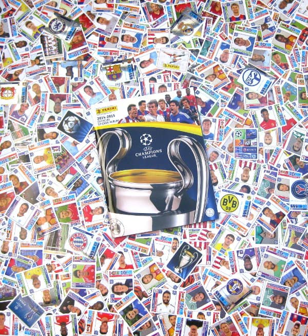 Panini Champions League 2014-2015 - All Stickers + Album