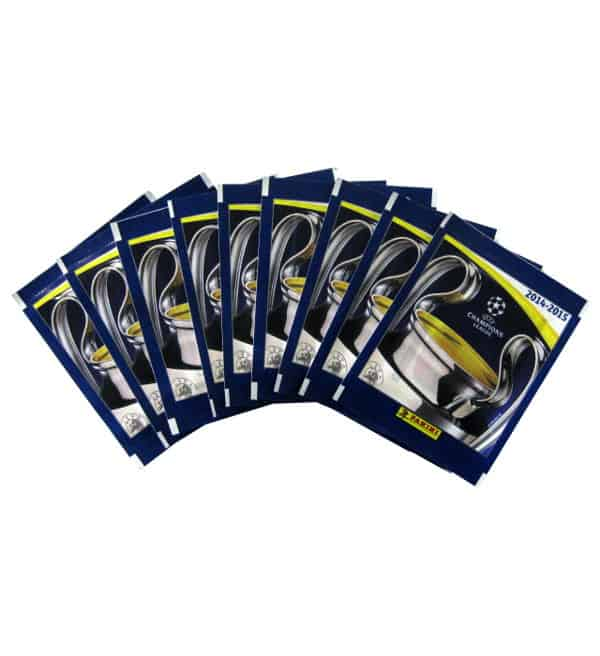 10 Packets Panini Champions League 2014-2015