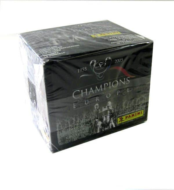 Panini Champions of Europe Display - Box Top