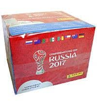 Panini Confed Cup 2017 Stickers Box With 50 Packets