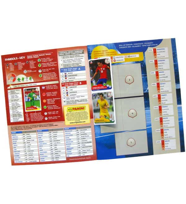 Panini Confederations Cup 2017 Album - Free Stickers