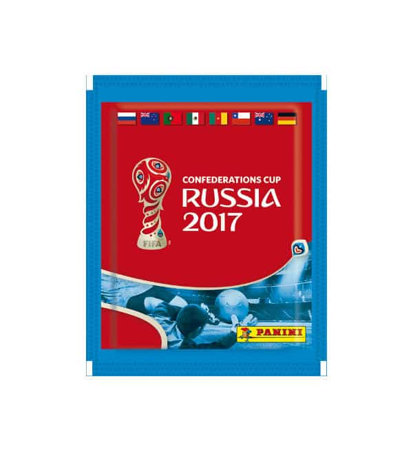 Panini Confederations Cup 2017 Packet