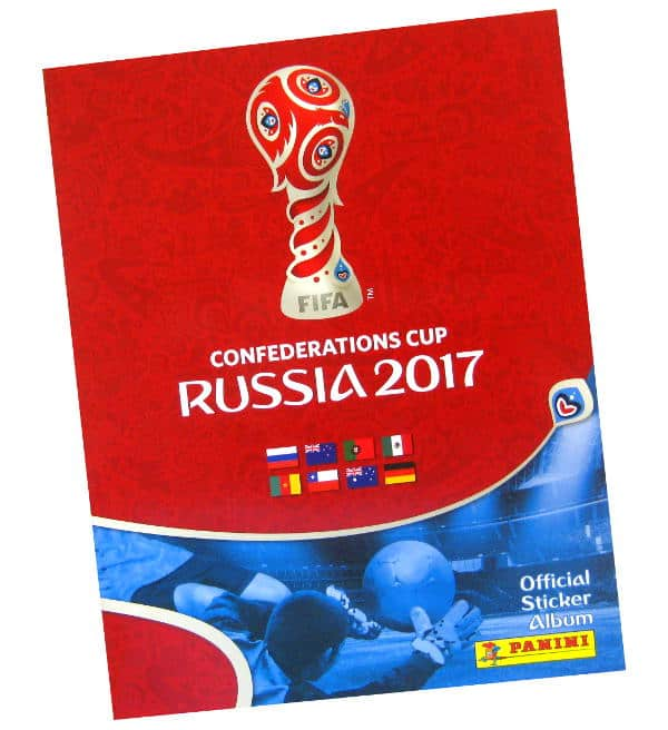Panini Confederations Cup 2017 Stickers Album