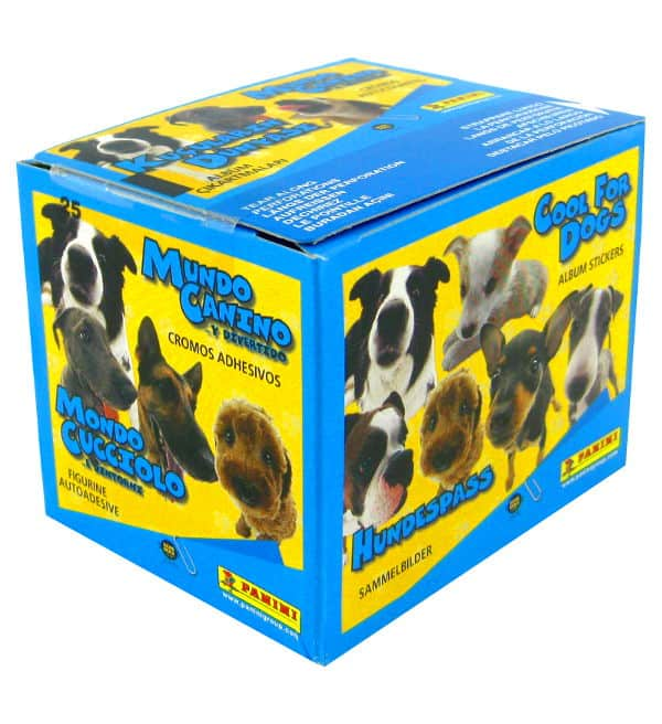 Panini Cool for dogs Stickers - Box With 50 Packets
