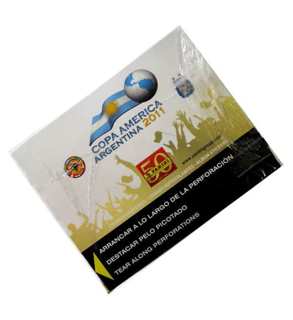 Panini Copa America Argentina 2011 Box From Above