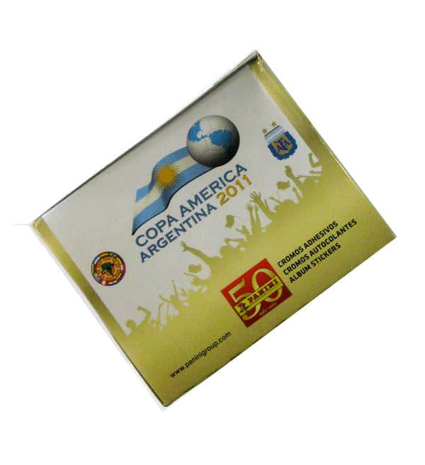 Panini Copa America Argentina 2011 Box From The Side