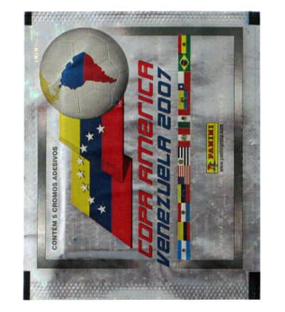 Panini Copa America Venezuela 2007 Sticker Packet