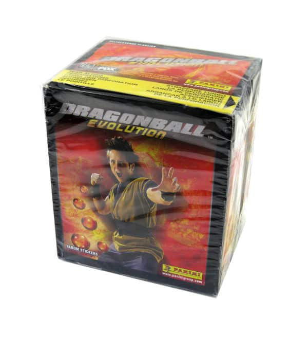 Panini Dragonball Evolution Display