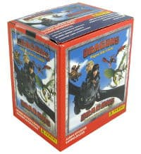 Panini Dragons Riders Guide - Box With 50 Packets